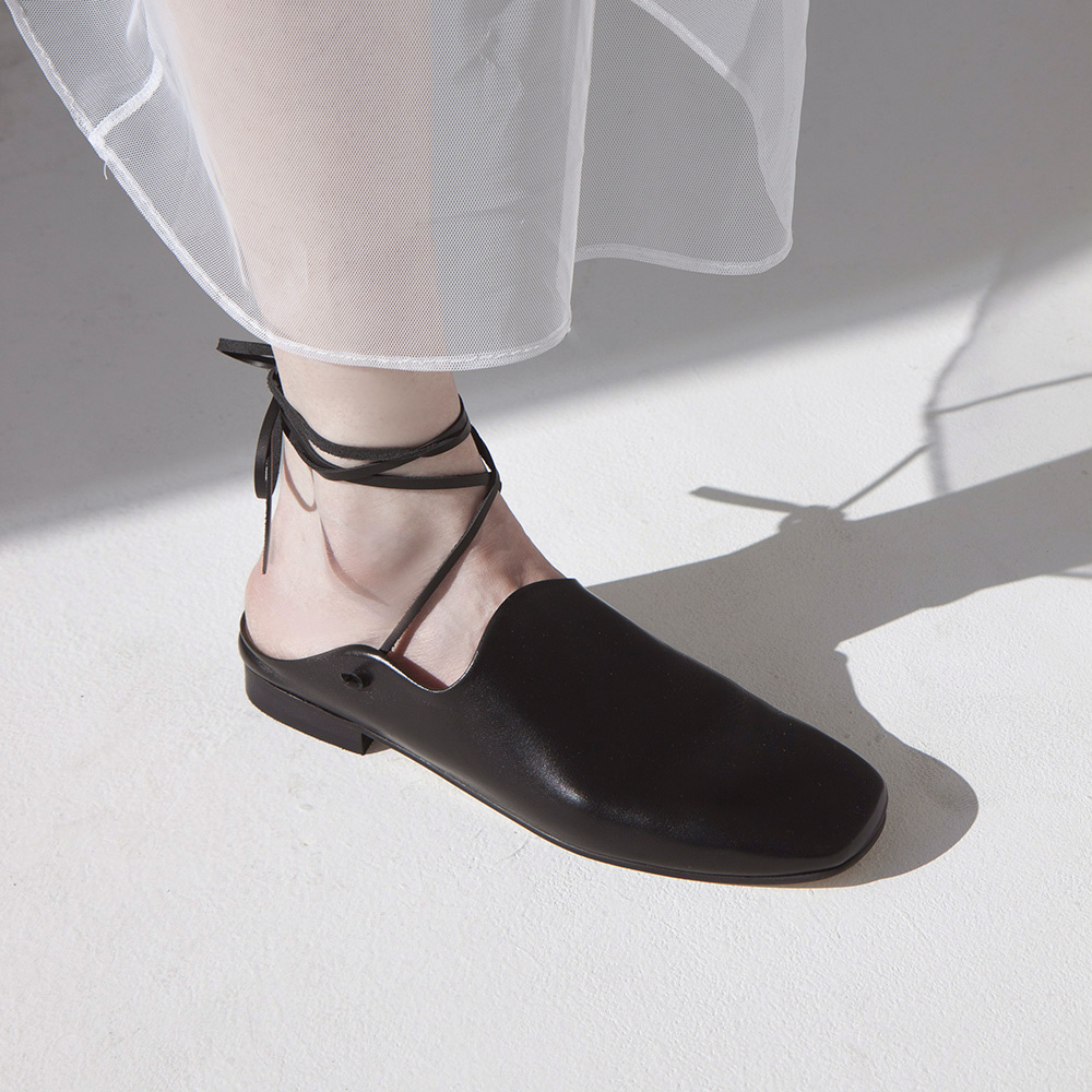 Wave slipper shoes_Black