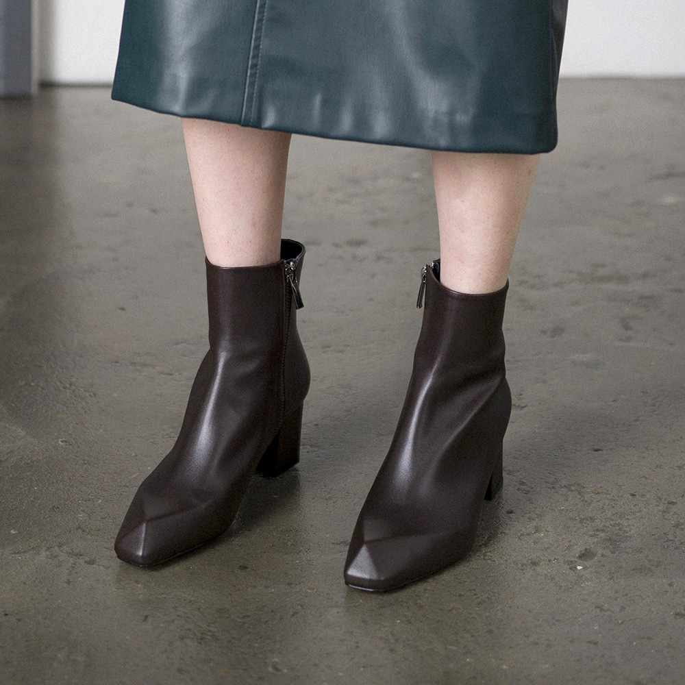 amil ankle boots_Brown