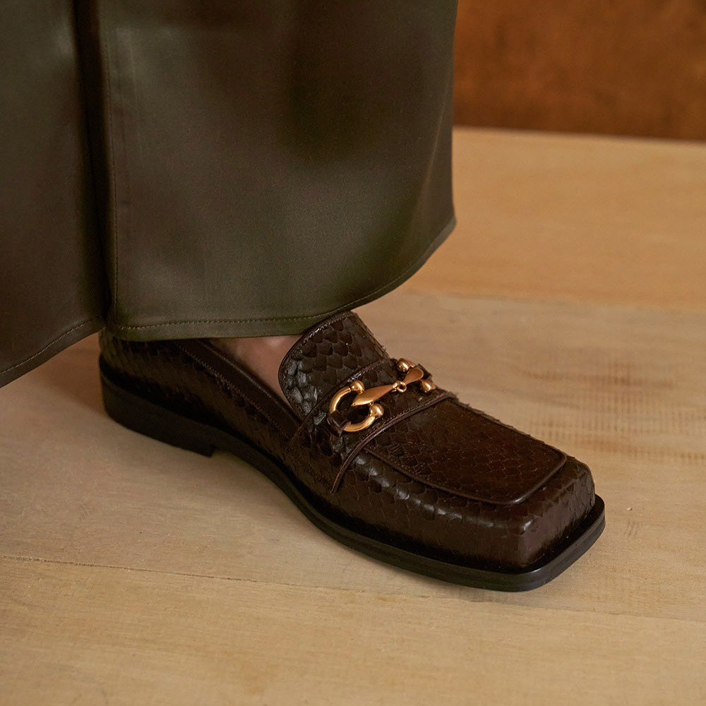 Bold & Easy loafer_Brown